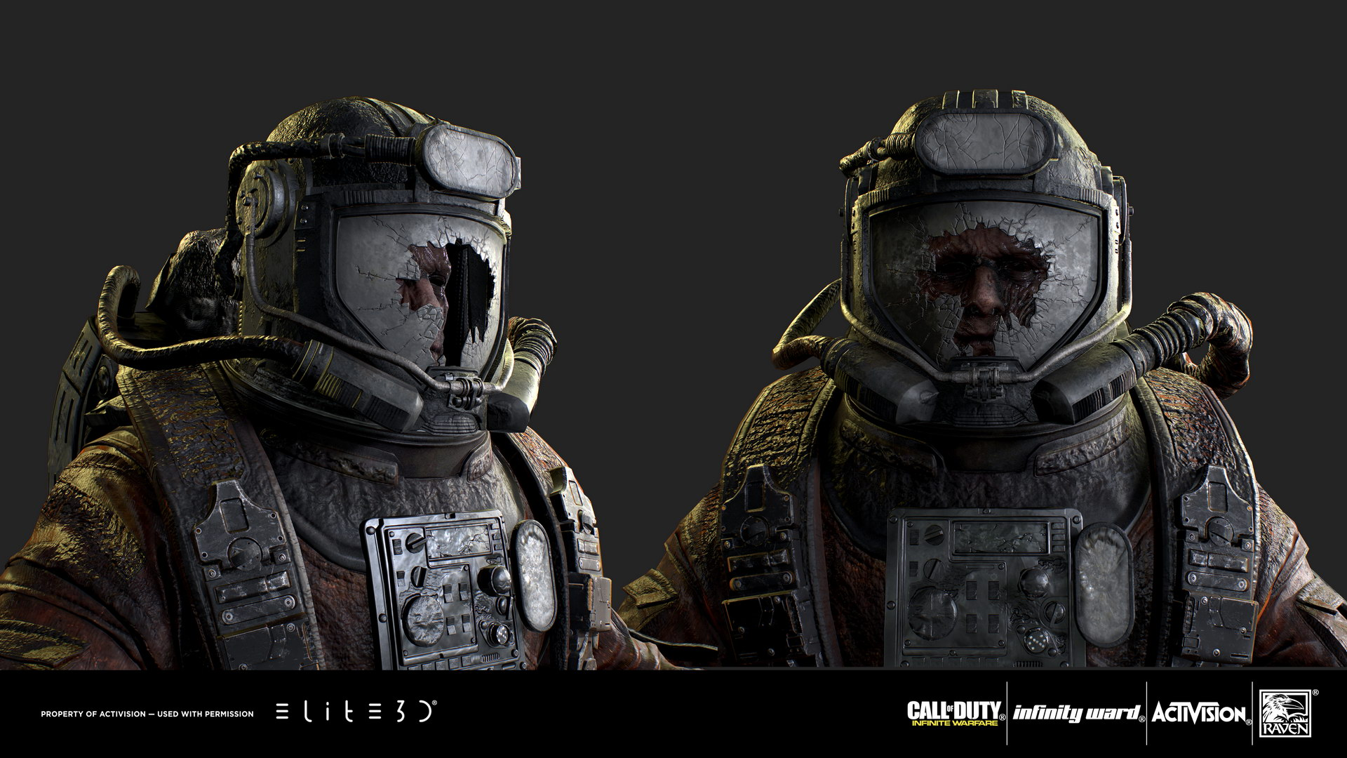 "Call of Duty: Infinite Warfare ""Miner"" Character 