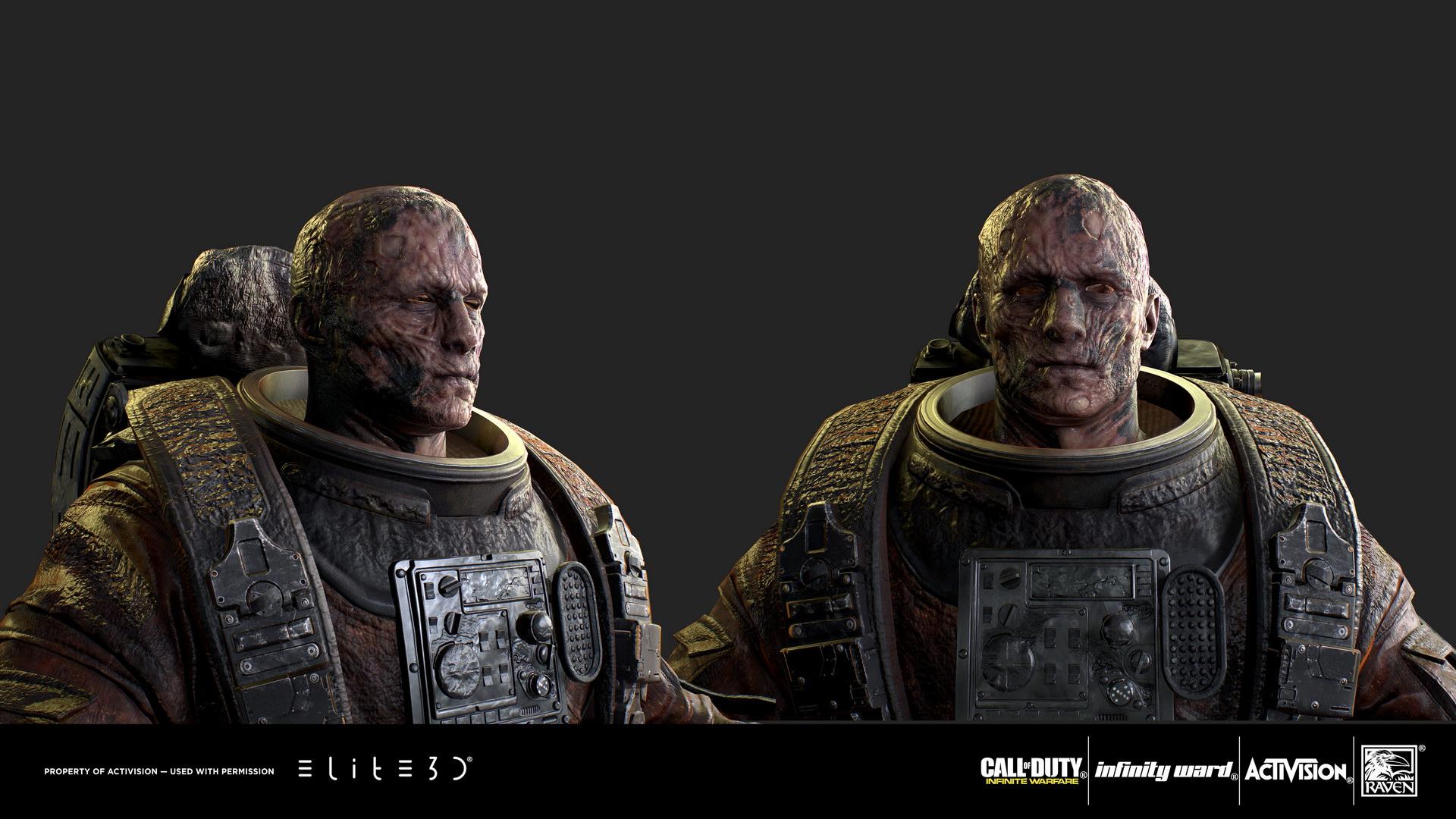 "Call of Duty: Infinite Warfare ""Miner"" Character"