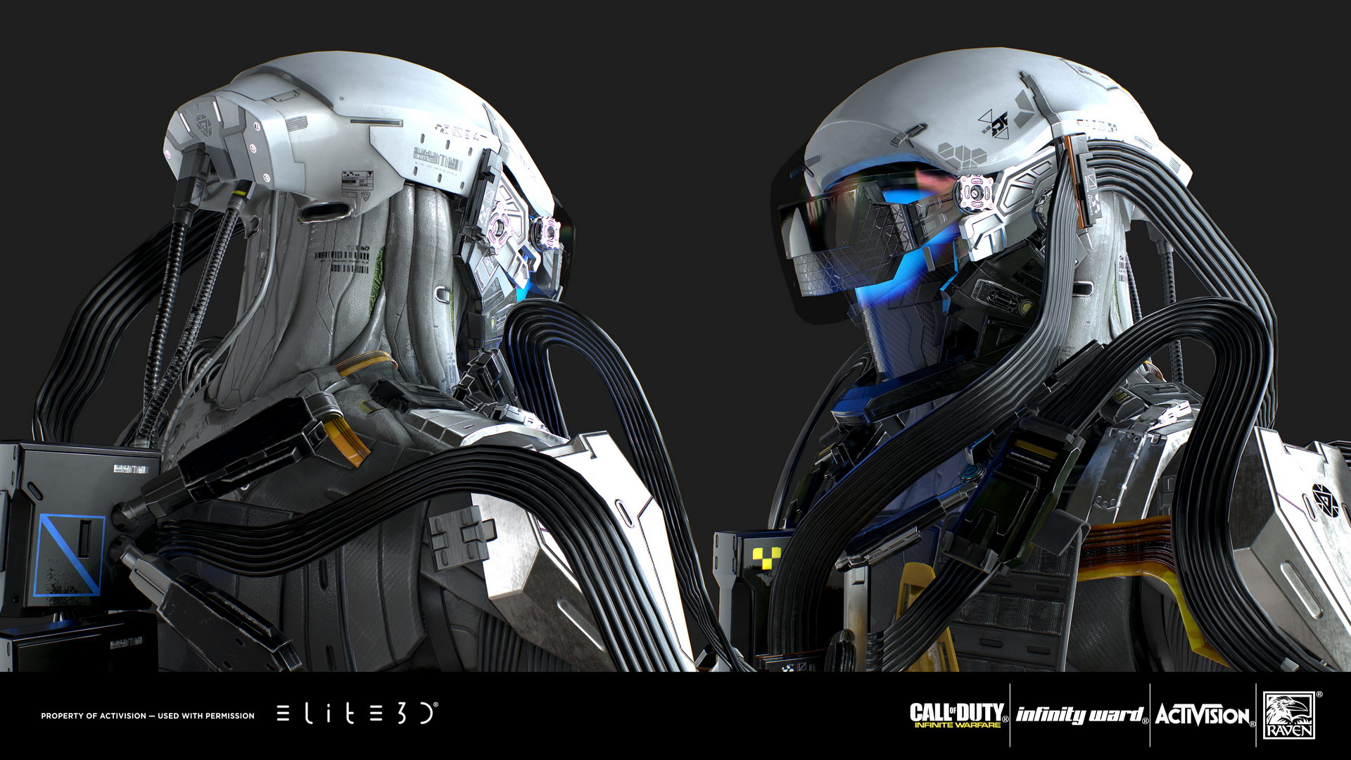 Call Of Duty Infinite Warfare Ftl Characters Elite3d
