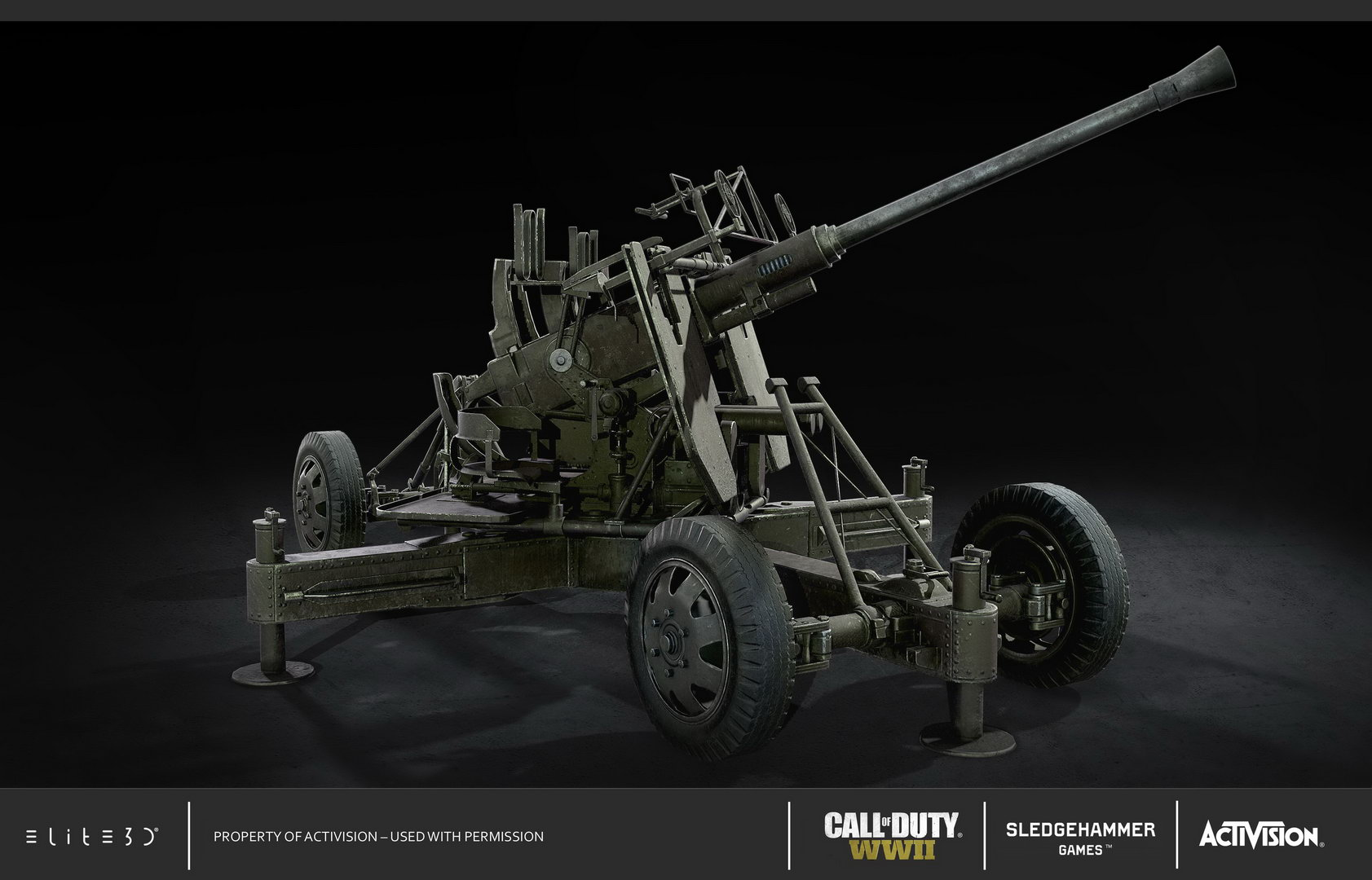 Call Of Duty Wwii Weapons Elite3d